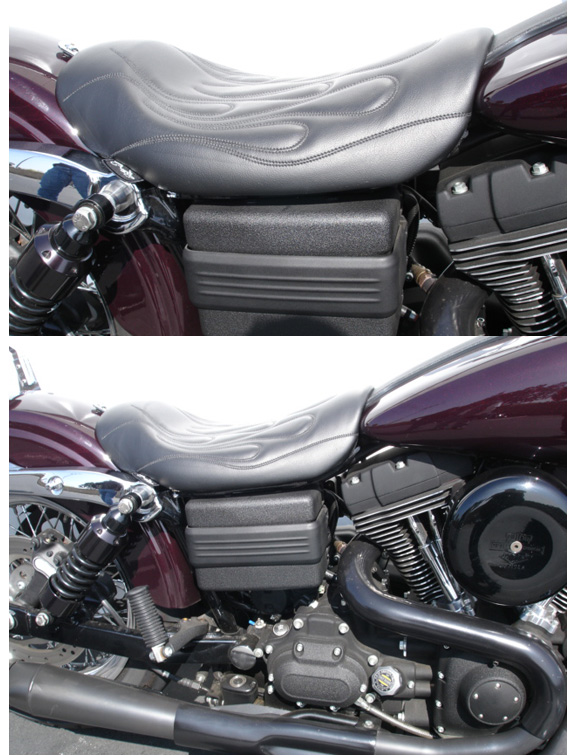 C Amp C Motorcycle Seats With Standard Flames Stitch Pattern