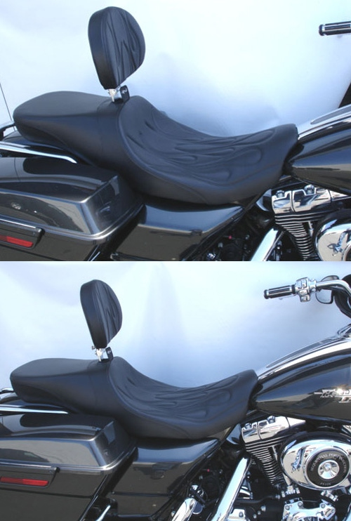 C Amp C Seats For Harley Davidson Road King Classic And