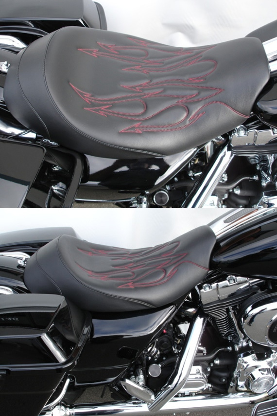 Fabulous Solo Seat For Harley Davidson Road King Classic And Custom Machost Co Dining Chair Design Ideas Machostcouk