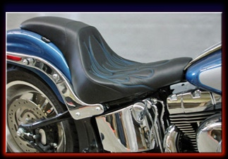 C Amp C Motorcycle Seats For Harley Davidson Softails With 200 Rear Tire Including The Flstsb Cross Bones