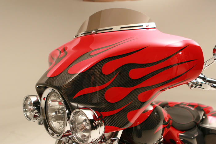 Dragonfly Cycle Concepts Detachable Fairings for Road