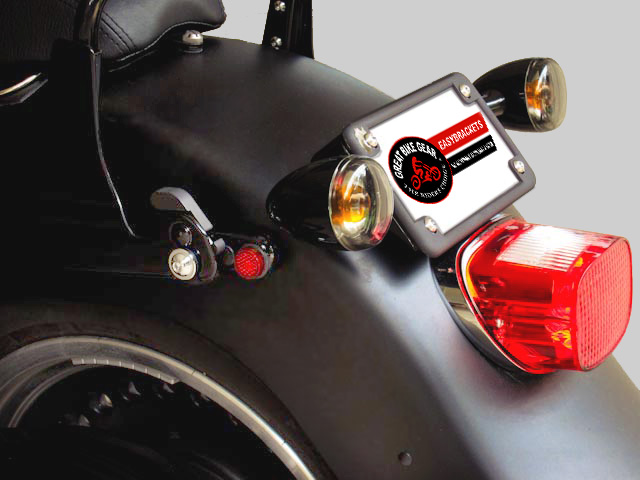 Easy Brackets Saddlebags Support Systems For Harley Davidsons
