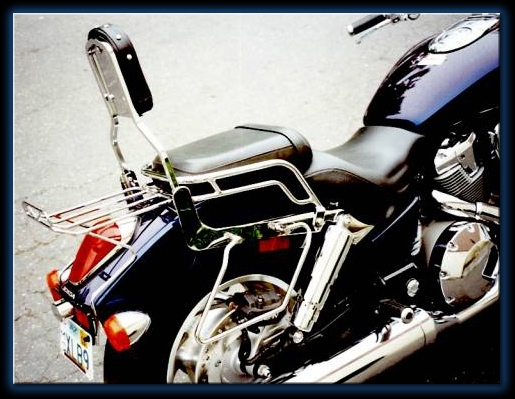 Honda VTX 1800C Saddlebags
