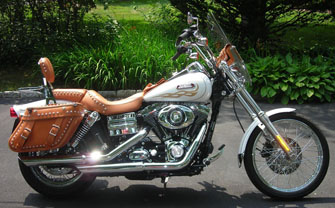 Softail Saddlebags From Leatherworks Fat Boy And Deluxe